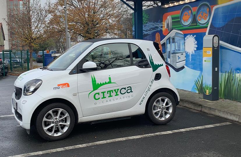 Carsharing mit e-Autos
