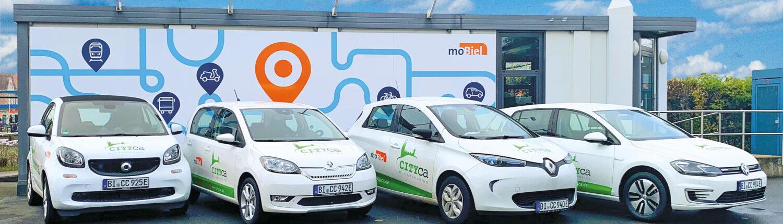 CITYca-Carsharing mit Elektroautos